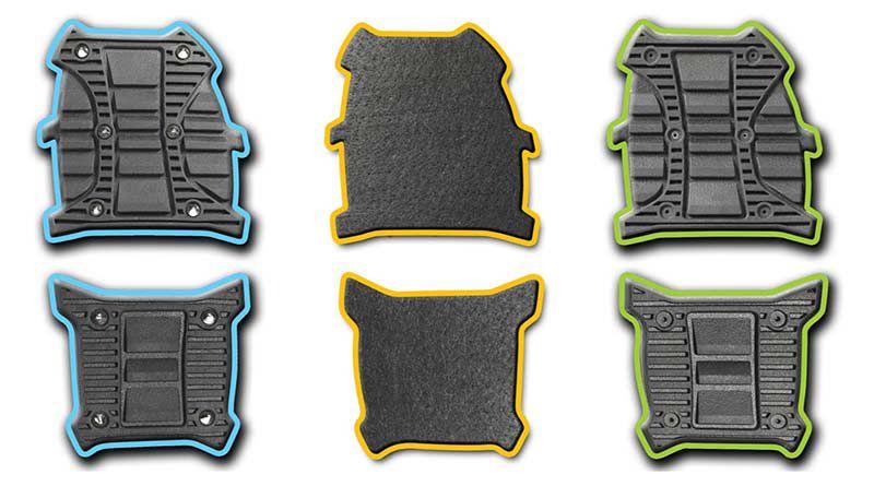 flip flop different kind of traction designs