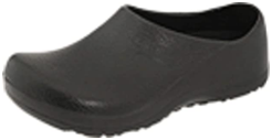 Birkenstock Profi-Birki model shoes with slip resistance and water proof for working in kitchen