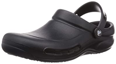 black color Crocs non slip shoes with strip for grip for kitchen working people