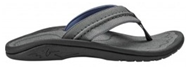 a flip flop for men in black color with support
