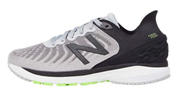 New Balance shoes with high arch with black and white color for kids
