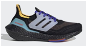 Adidas walking shoes fro kids with high arches with black sole and mock laces