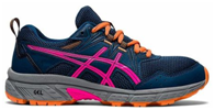 Asics kids gel shoes with shoe lace