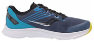 Saucony kids shoes with blue color with high arch for walking