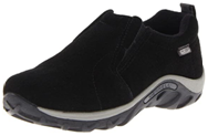 Merrel Jungle slip on black color walking shoes for boys with arches